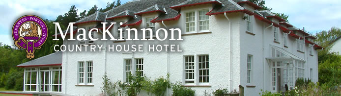 MacKinnon Country House Hotel Isle of Skye Scotland