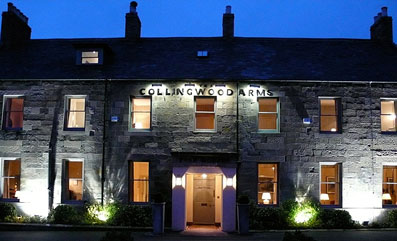 The Collingwood Arms Hotel Cornhill-On-Tweed Scotland